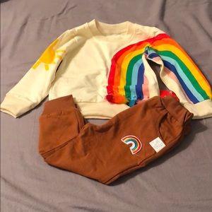 Rainbow clothing set